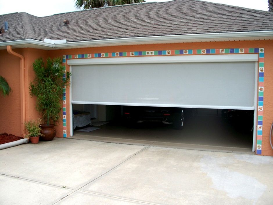 motorized garage door